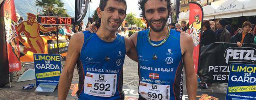 Lizeaga y Egea rozan el podium en la Limone Extreme (Italia)